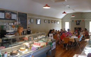Wide selection of food and beverages available.