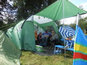 Campsite near Dublin