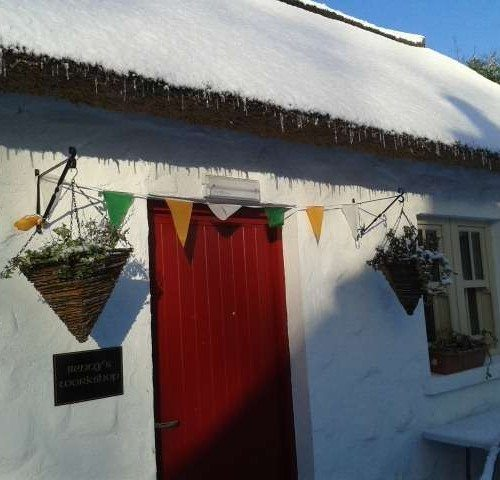 Snow on the Thatched Roof