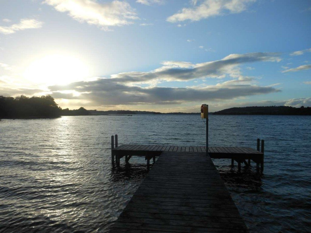 Fishing in Lough Lene