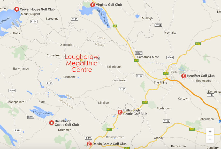 Golf Courses Near Loughcrew Megalithic Centre