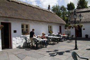Loughcrew Coffee Shop Courtyard