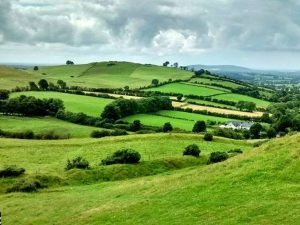 loughcrew hills and fields