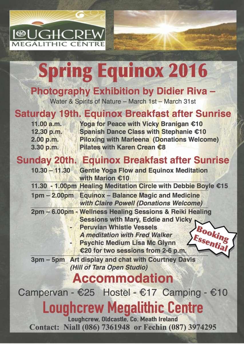Loughcrew Equinox 2016
