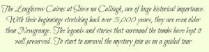 Loughcrew Cairns Note