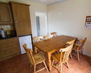 Kitchen in Loughcrew Hostel