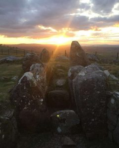 Loughcrew Sunset
