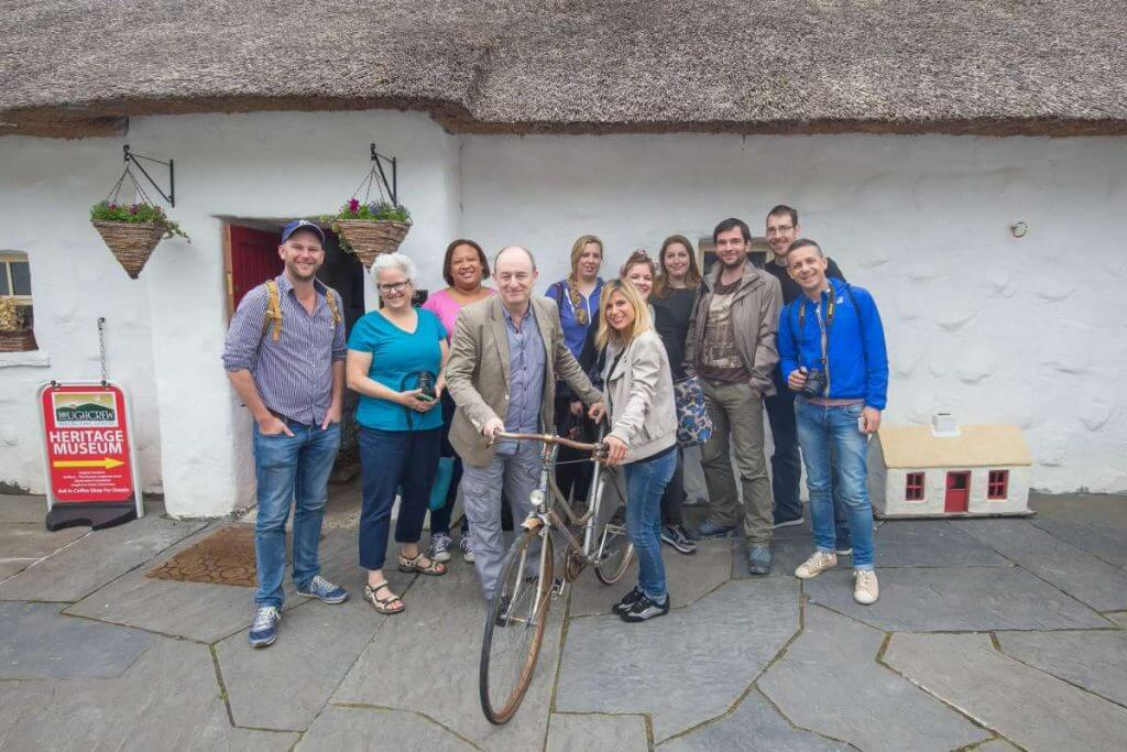 Failte Ireland Bloggers at Cottage Loughcrew Heritage Museum