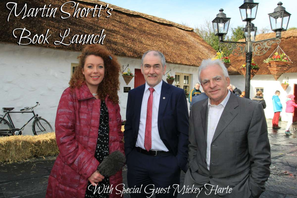 Book Launch Martin Shortt