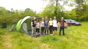Camping near Oldcastle