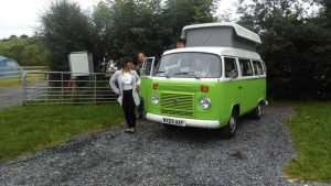 VW Camping at Loughcrew