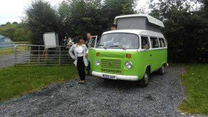 VW Camping at Loughcrew