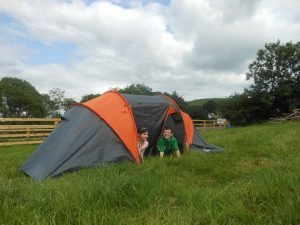 Family Camping in Loughcrew