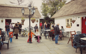 courtyard at loughcrew