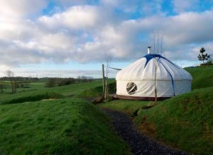 glamping at loughcrew