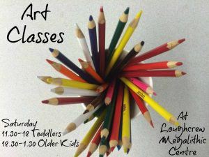 art classes cover poster