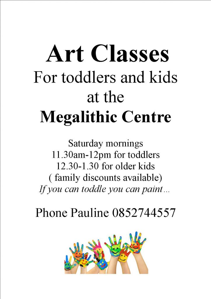 art classes at Loughcrew