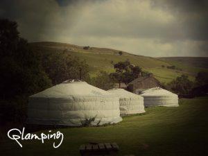 Yurts at Loughcrew
